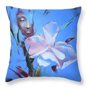 Oleandera Throw Pillow