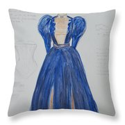 Olga From 'the Three Sisters' Throw Pillow