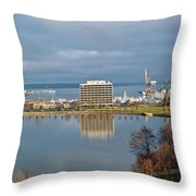 Olympia Lake Throw Pillow