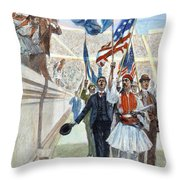 Olympic Games, 1896 Throw Pillow