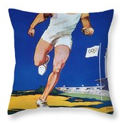 Olympic Games, 1928 Throw Pillow by Granger