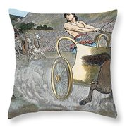 Olympic Games, Antiquity Throw Pillow by Granger