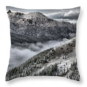 Olympic Ridge Throw Pillow