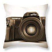 Olympus Om77af Throw Pillow