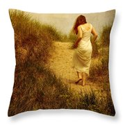 On A Beautiful Day Throw Pillow