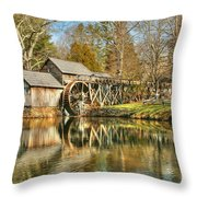 On A March Day Throw Pillow