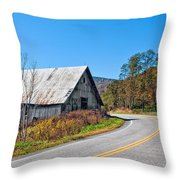 On A Roll In West Virginia 2 Throw Pillow