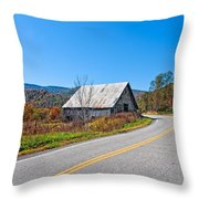 On A Roll In West Virginia Throw Pillow