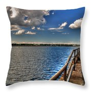On A Sunday Afternoon... Throw Pillow