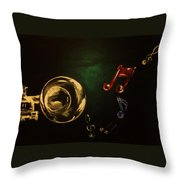 On Another Note Throw Pillow