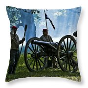 On Command Throw Pillow