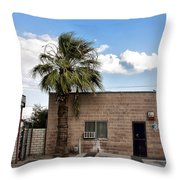 On Eugene Road Throw Pillow