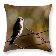 On The Arbor Throw Pillow