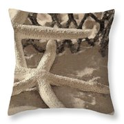 On The Beach 2 Throw Pillow