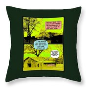 On The Bright Side 2 Agreement Throw Pillow
