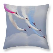 On The Curve Throw Pillow