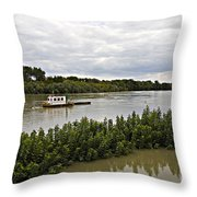 On The Danube Throw Pillow