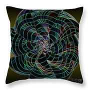 On The Dark Side Throw Pillow