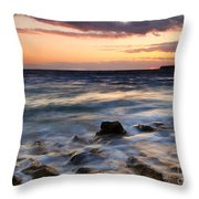 On The Horizon Throw Pillow