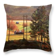 On The Other Side Throw Pillow