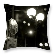 On The Road 2 Throw Pillow