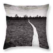 On The Swamp Throw Pillow