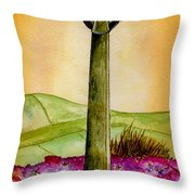 On The Yorkshire Moors Throw Pillow