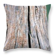 Once A Tree Throw Pillow