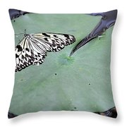 Once Upon A Lily Throw Pillow