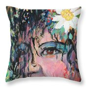 Once Upon A Time Woman Throw Pillow