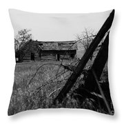 Once Was Home Throw Pillow