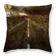 Once When We Were Children Throw Pillow