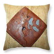 One - Tile Throw Pillow