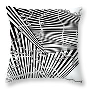 One 15 Throw Pillow