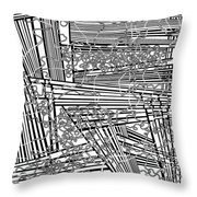 One 19 Throw Pillow