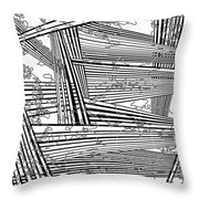 One 22 Throw Pillow