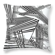One 25 Throw Pillow