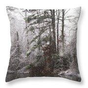 One Alabama Christmas Throw Pillow