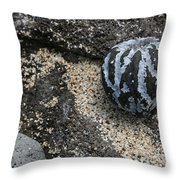 One Candlenut Throw Pillow