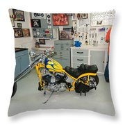 One Chopper Coming Up Throw Pillow