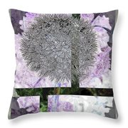 One Dandy Lion 4 Throw Pillow