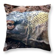 One Eyed Monster Throw Pillow