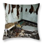 One Mans Mess Throw Pillow