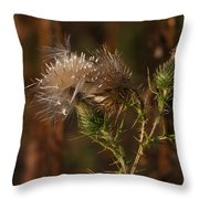 One Man's Weed Throw Pillow