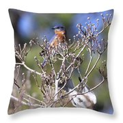 One More Berry Throw Pillow