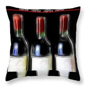 One More For The Road Throw Pillow