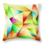 One Night Of Dreams Throw Pillow