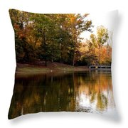 One October's Dream Throw Pillow