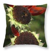 One Petal Throw Pillow