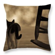 One Saturday Afternoon Throw Pillow